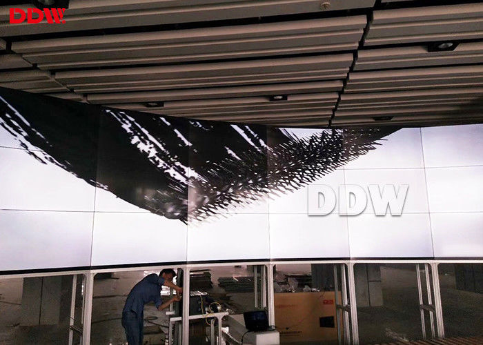 High Resolution Curved Video Wall For Radio And Television 700 Nits