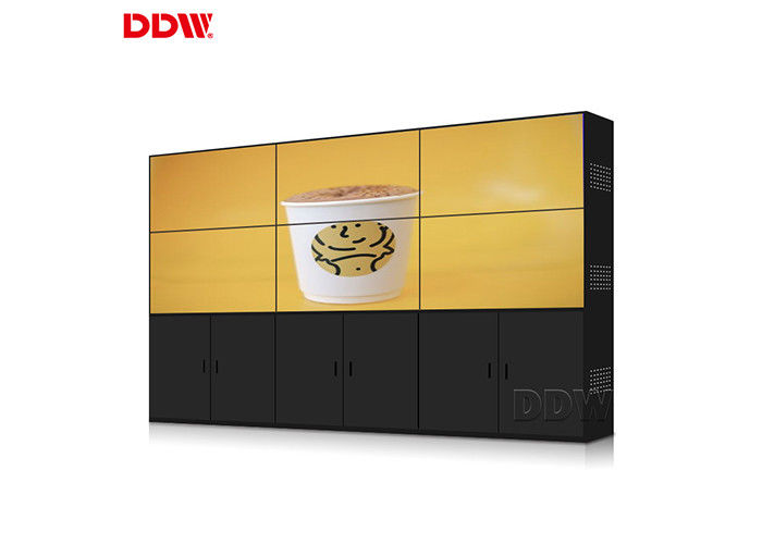 Indoor Outdoor Video Wall LCD Screens , Long Life Hdmi Video Wall